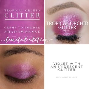 Tropical Orchid Glitter SHADOW SENSE LE  NWT